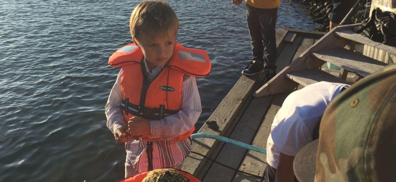 krabbfiske på bryggan (Demo)